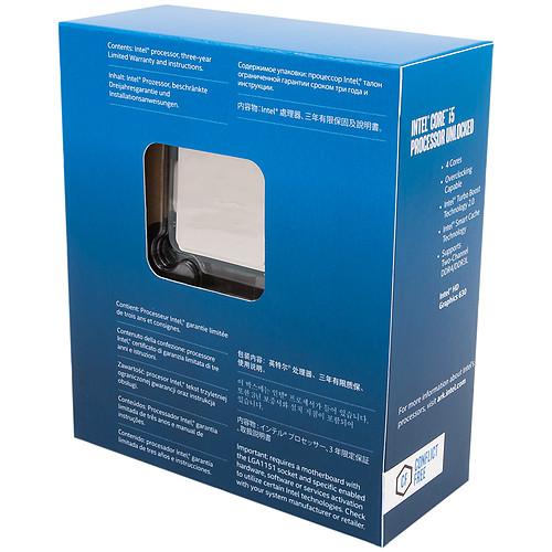 Intel Core i5-7600K (3.8 GHz) pas cher