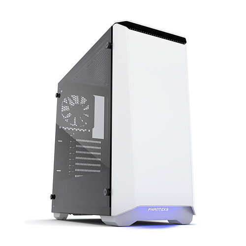 Phanteks Eclipse P400S Tempered Glass (Blanc) pas cher