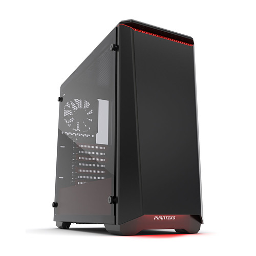 Phanteks Eclipse P400S Tempered Glass Special Edition (Rouge) pas cher