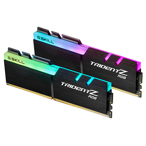 G.Skill Trident Z RGB 32 Go (2x16 Go) DDR4 2400 MHz CL15 pas cher