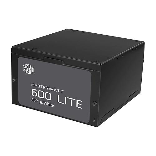 Cooler Master MasterWatt Lite 600 pas cher