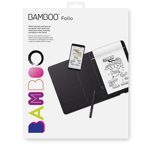 Wacom Bamboo Folio Small Noir pas cher