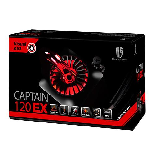 Deepcool Gamer Storm Captain 120EX V2 (Noir) pas cher
