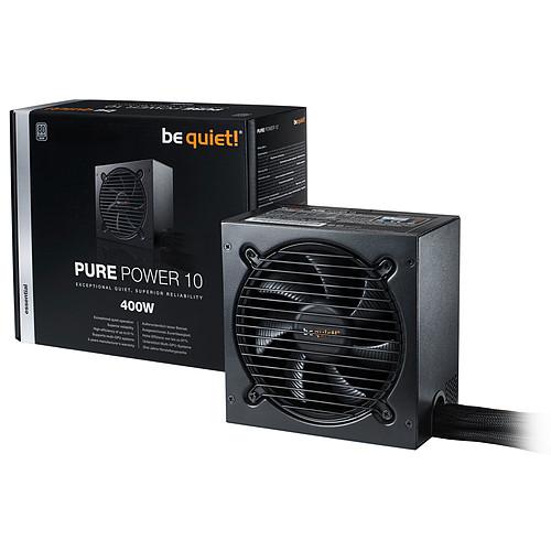 be quiet! Pure Power 10 400W 80PLUS Silver pas cher
