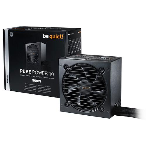 be quiet! Pure Power 10 500W 80PLUS Silver pas cher