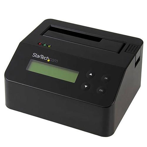 """StarTech.com Station d'accueil et effaceur USB 3.0 autonome pour disque dur SATA de 2,5"""" et 3,5"""" pas cher"""