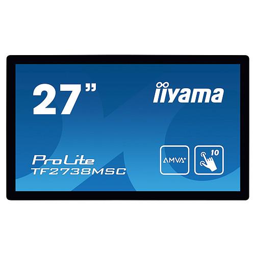 "iiyama 27"" LED Tactile - ProLite TF2738MSC-B1 pas cher"