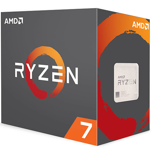 AMD Ryzen 7 1800X (3.6 GHz) pas cher