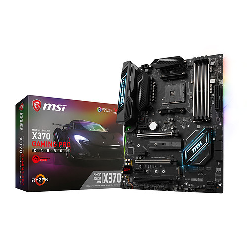 MSI X370 GAMING PRO CARBON pas cher