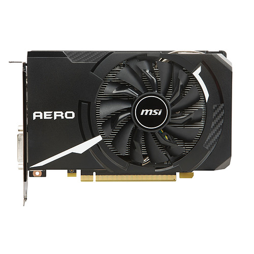 MSI GeForce GTX 1060 AERO ITX 6G OC pas cher