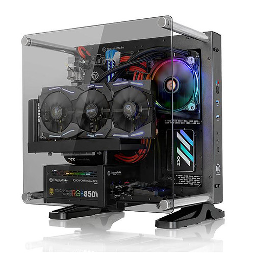 Thermaltake Core P1 Tempered Glass Edition pas cher
