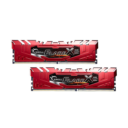 G.Skill Flare X Series Rouge 16 Go (2x 8 Go) DDR4 2133 MHz CL15 pas cher