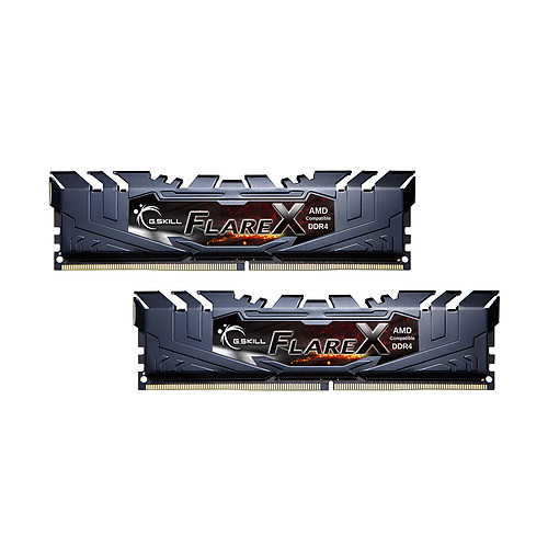 G.Skill Flare X Series 16 Go (2x 8 Go) DDR4 3200 MHz CL14 pas cher