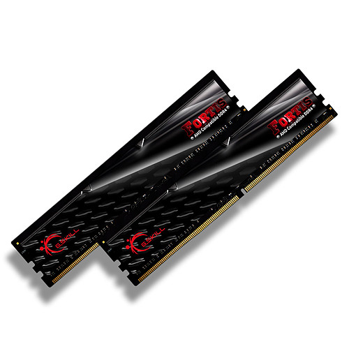 G.Skill Fortis Series 16 Go (2x 8 Go) DDR4 2400 MHz CL16 pas cher