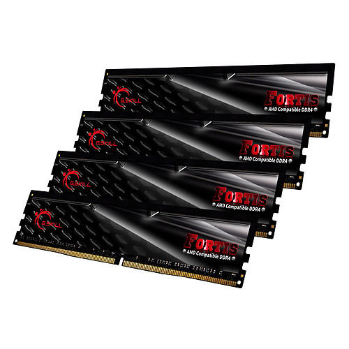 G.Skill Fortis Series 32 Go (4x 8 Go) DDR4 2133 MHz CL15 pas cher