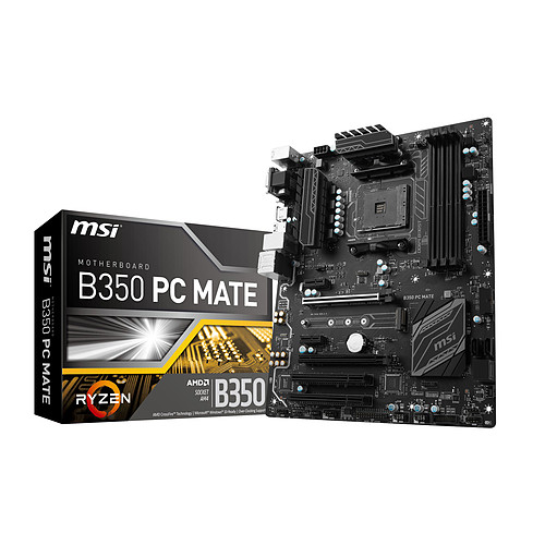 MSI B350 PC MATE pas cher