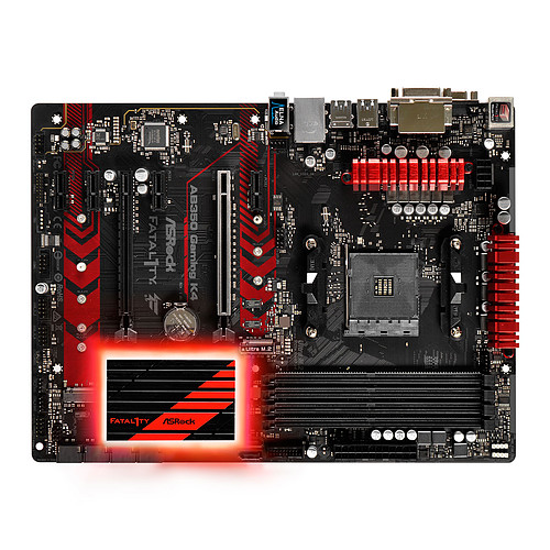 ASRock Fatal1ty AB350 Gaming K4 pas cher
