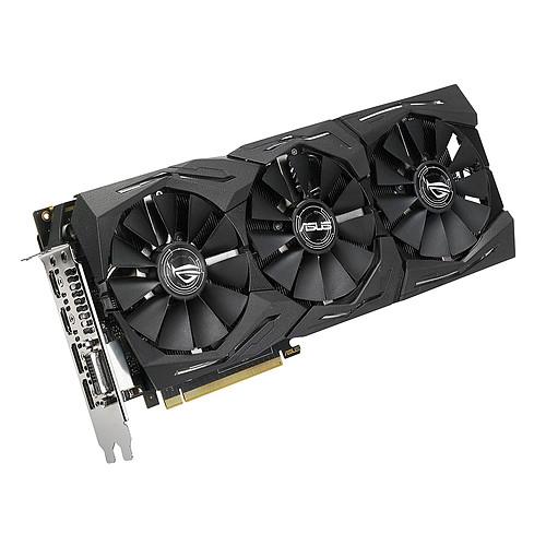 ASUS GeForce GTX 1080 Ti 11 GB ROG-STRIX-GTX1080TI-O11G-GAMING pas cher
