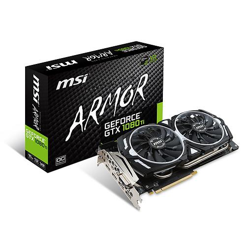 MSI GeForce GTX 1080 Ti ARMOR 11G OC pas cher