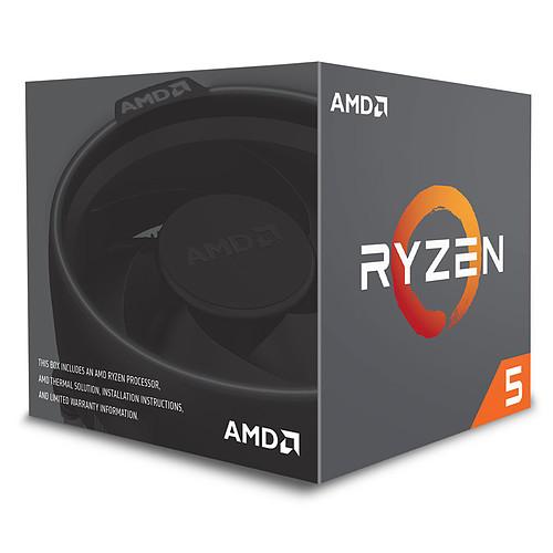 AMD Ryzen 5 1600 Wraith Spire Edition (3.2 GHz) pas cher