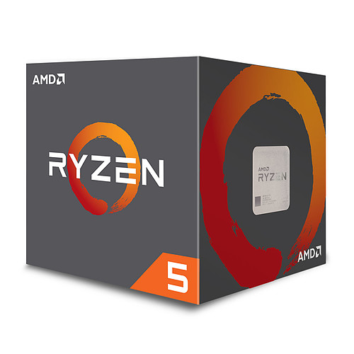 AMD Ryzen 5 2600X Wraith Spire Edition (3.6 GHz) pas cher