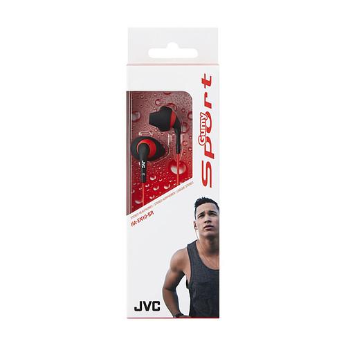 JVC HA-EN10 Noir/Rouge pas cher