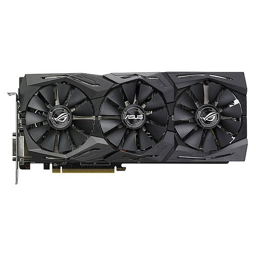 ASUS Radeon RX 590 ROG-STRIX-RX590-8G-GAMING pas cher