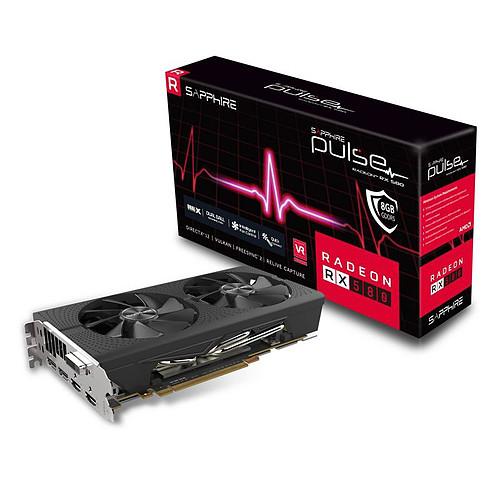 Sapphire PULSE Radeon RX 580 8GD5 pas cher