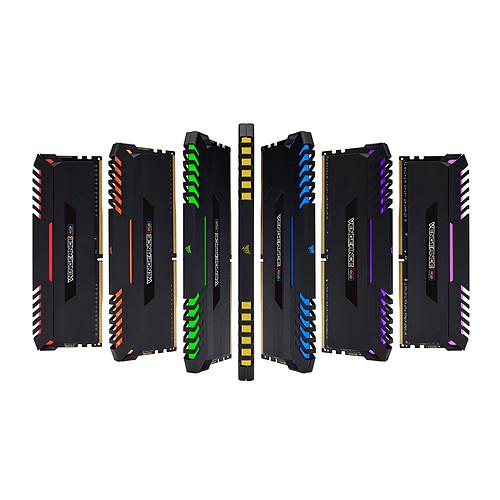 Corsair Vengeance RGB Series 16 Go (2x 8 Go) DDR4 2666 MHz CL16 pas cher