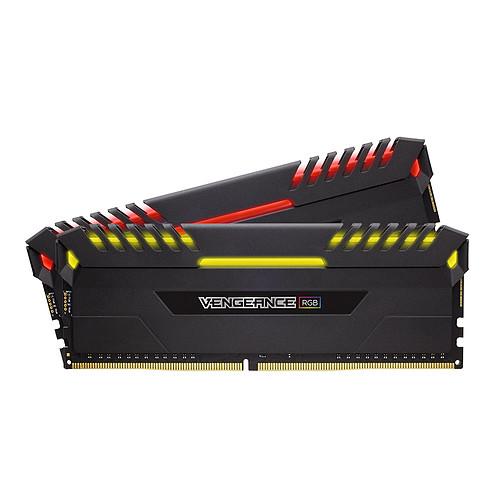 Corsair Vengeance RGB Series 16 Go (2x 8 Go) DDR4 3466 MHz CL16 pas cher
