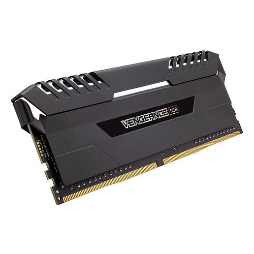 Corsair Vengeance RGB Series 32 Go (4x 8 Go) DDR4 2666 MHz CL16 pas cher