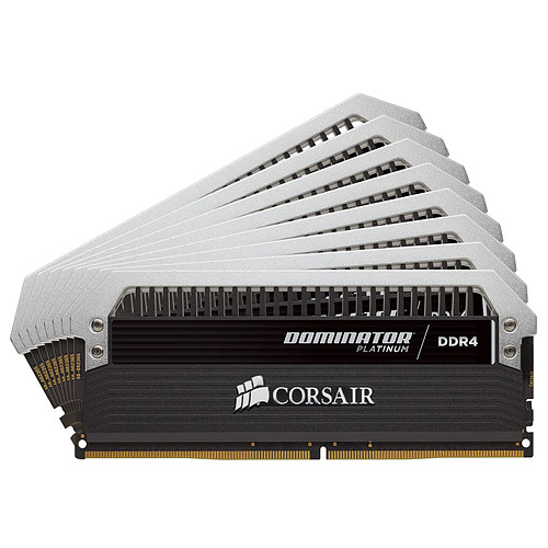 Corsair Dominator Platinum 64 Go (8x 8 Go) DDR4 3333 MHz CL16 pas cher