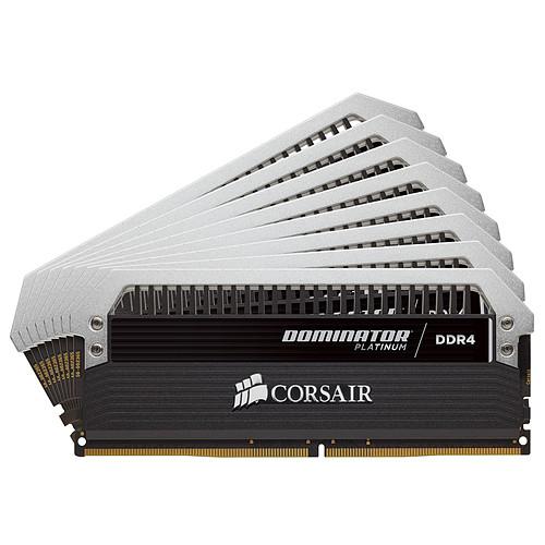 Corsair Dominator Platinum 64 Go (8x 8 Go) DDR4 3800 MHz CL19 pas cher