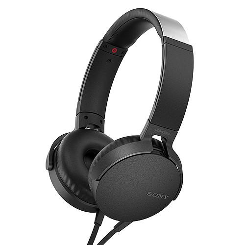 Sony MDR-XB550AP Noir pas cher