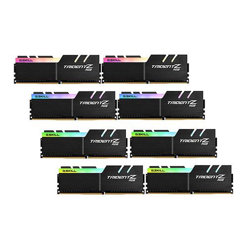 G.Skill Trident Z RGB 128 Go (8x 16 Go) DDR4 3200 MHz CL14 pas cher