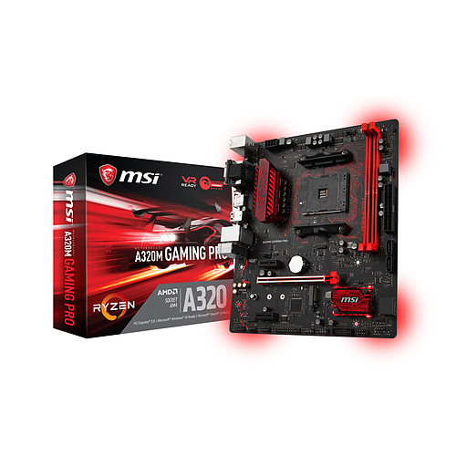 MSI A320M GAMING PRO pas cher