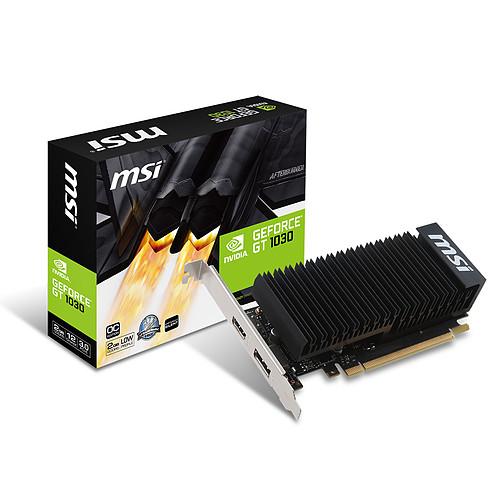 MSI GeForce GT 1030 2GHD4 LP OC pas cher