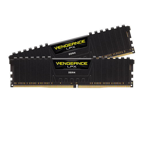 Corsair Vengeance LPX Series Low Profile 16 Go (2 x 8 Go) DDR4 3600 MHz CL18 pas cher