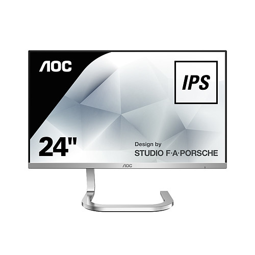 "AOC Design by STUDIO F.A PORSCHE 24"" LED - PDS241 pas cher"