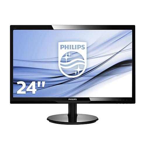 """Philips 24"""" LED - 246V5LDSB pas cher"""