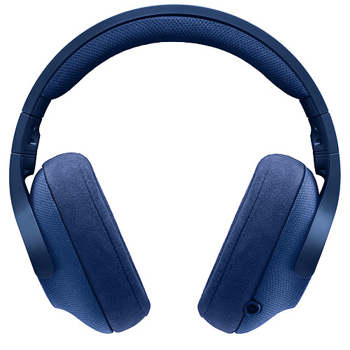 Logitech G433 7.1 Surround Sound Wired Gaming Headset Bleu pas cher