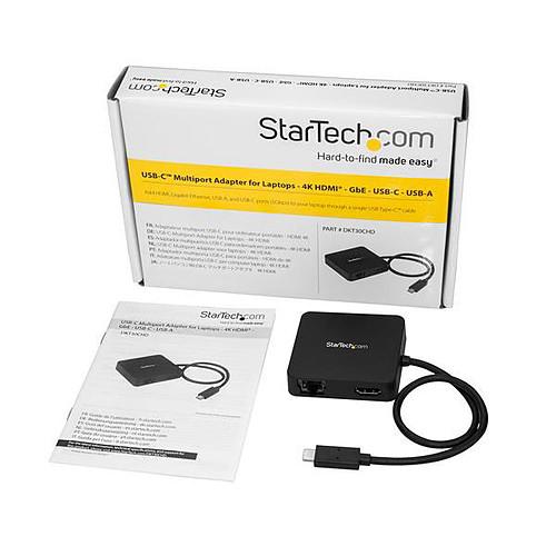 StarTech.com Adaptateur multiport USB-C pour ordinateur portable pas cher