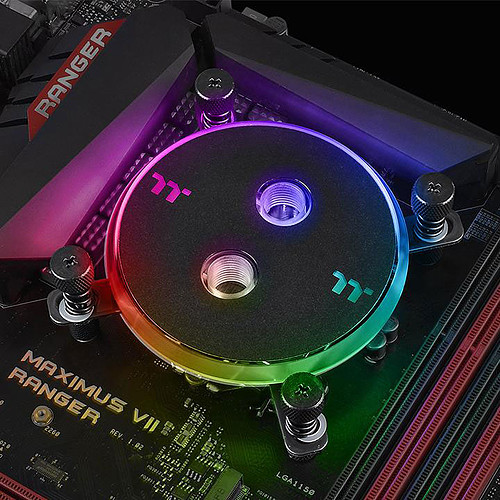 Thermaltake Pacific W4 Plus RGB CPU Water Block pas cher