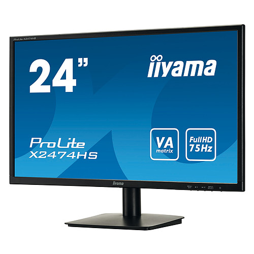 "iiyama 24"" LED - ProLite X2474HS-B1 pas cher"