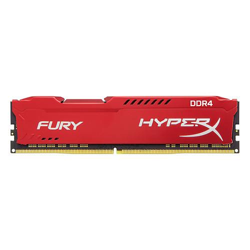HyperX Fury Rouge 8 Go DDR4 2666 MHz CL16 pas cher