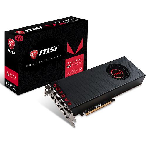 MSI Radeon RX Vega 64 8G pas cher