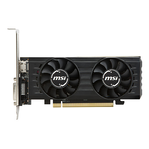 MSI Radeon RX 550 4GT LP OC pas cher