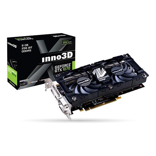 INNO3D GeForce GTX 1070 X2 V4 pas cher