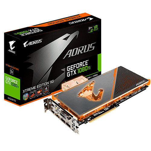 Gigabyte Aorus GeForce GTX 1080 Ti Waterforce WB Xtreme Edition pas cher
