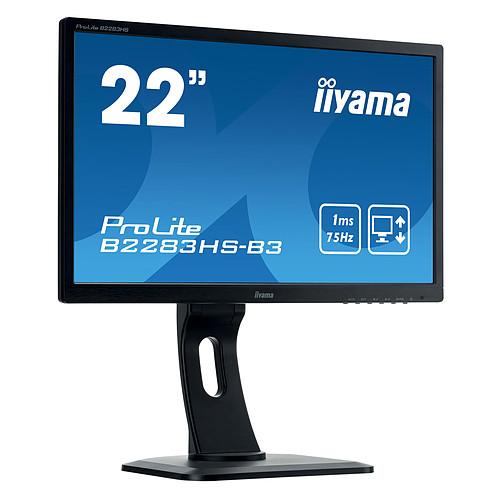 "iiyama 21.5"" LED - ProLite B2283HS-B3 pas cher"